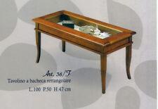 Tavolino a bacheca quadrato mod.36F -  stile arte povera