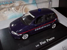Voiture 1/43 OLIEX FIAT : punto carabinier italie ( police)