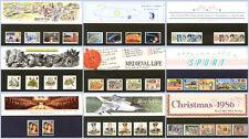Presentation Packs 1986 Year Set (9 packs)
