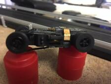 1 Real Autoworld Xtraction Ultra G Mag HO Slot Car Chassis Black Rims Fits AFX
