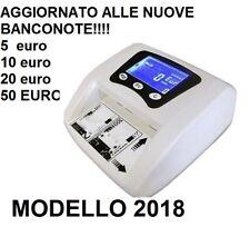 RILEVA BANCONOTE SOLDI FALSI MINI RILEVATORE CONTA EURO VERIFICA AGGIORNATO 2019