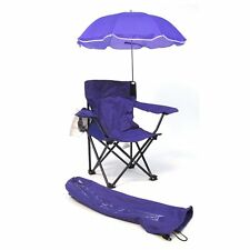Redmon Beach Baby Kids Umbrella Camp Chair with matching Tote Bag in Purple New