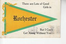 Yellow and Green Printed Pennant Lots of Good Girls in Rochester NY
