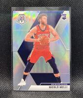 Nicolo Melli Rookie Silver Prizm 2020 Mosaic Basketball Panini #216 Pelicans