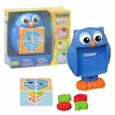 New TOMY Play To Learn Mr Owl Pop Out Puzzles Learning Activity Official