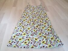 BODEN LADIES LINEN MIX STRAPPY SUNDRESS- SIZE 8R
