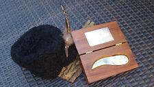 Custom Knife BEAR CLAW  R. Smith Messer Skinner Handmade Vintage RARITÄT