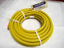 "50ft X 3/8"" Air Hose Goodyear/Continental Yellow Oil Resistant  1/4"" NPT fitting"