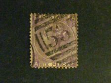 Great Britain #51a used violet/plate8 a198.9318