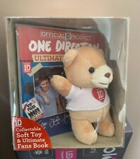 One Direction Collectable Soft Toy And Ultimate Fans Book Gift Set