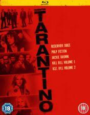 Reservior Dogs / Pulp Fiction / Jackie Brown / Kill Bill 1 & 2 BLU-Ray NEW BLU-R