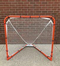 New Gait 4' x 4' box indoor lacrosse replacement 5mm mesh net goal feet Debeer