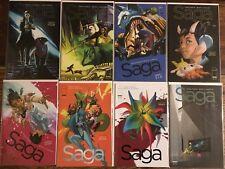 Saga #24 25 26 27 28 29 30 31 NM Image Comics Vaughan Staples  8 Book Lot Run