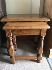 John Lewis Less than 60cm High Nested Tables 2 Pieces