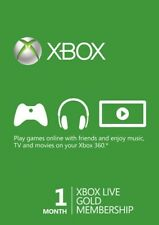 1 Month Xbox Live Gold Membership KEY (Xbox One/360) Region Free