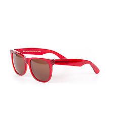 Retrosuperfuture Classic Crystal Ruby Red Fashion Sunglasses SUPER-896 55mm