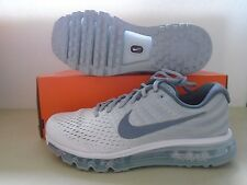 New Nike Air Max 2017 360 White Grey Running Shoes sz 10