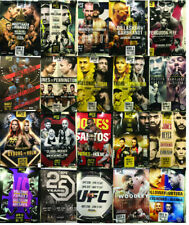 20 assorted UFC Event Posters 18 X 24