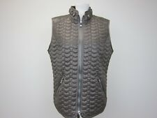 Gerry Weber Collection Women's Lightweight Puffer Vest US 12 Bronze/Grey  NWT