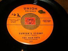THE MAR-KETS - SURFER'S STOMP - START   / LISTEN - SURF POPCORN