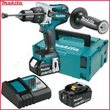 Perceuse visseuse à percussion DHP481 Makita 2 batteries 5Ah 18V Chageur MAKPAC
