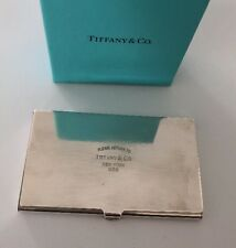 Tiffany & Co Please Return To Tiffany Business card Holder Solid925 Card Case