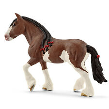 Schleich 13809 Clydesdale Mare Draft Horse Model Toy Figurine - NIP