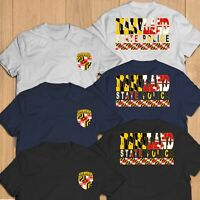 New Maryland Fire Department Unit Rescue Paramedic T-Shirt Tee