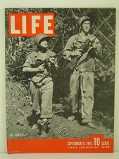 1943 Life Magazine: Jap Hunters/Industry At War/John Jacob Niles/Munda Airfield