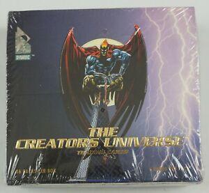 the Creators Universe Trading Cards SEALED BOX Dynamic 1993 Neal Adams Nighthawk