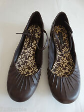 America-n Eagle women's casual brown slip-on strappy shoes size 7 1/2