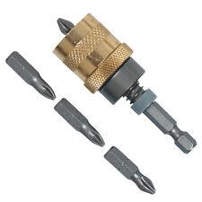 """Trockenbau Bithalter 1/4"""" - E6,3 für Ri-Gipsplatte Bits Tiefenanschlag"""