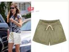 LADIES SHORT WITH STRING & POCKET #101 (LH)  (BEIGE) FREE SIZE