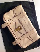 Proenza SCHOULER ps1 Pochette Clutch Borsa Bag nude leather $895 TOP!