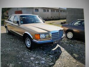 MERCEDES BENZ 280SE - W126 Très bel état d'origine, 1981