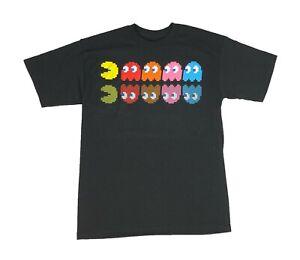 Pacman Men's T Shirt Ghosts Game Over Atari Retro Vintage Arcade Video Game