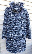 Mango Suit Abrigo Vicente Lined Wool Mohair Blend Jacket Coat Size XS