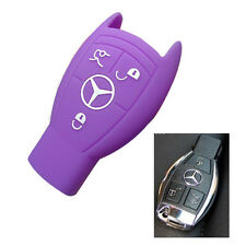 Car key silicone cover case for Mercedes-Benz S/E series SLK CLS ML G GL GLK