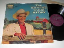 ERNEST TUBB The Ernest Tubb Story V. 1 BRUNSWICK STA.3022 STEREO NM- UK Pressing