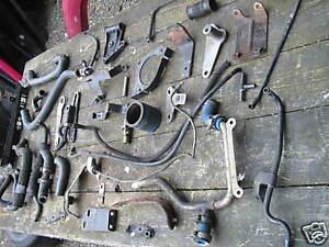 Restteilesammlung Spare Parts Renault Alpine V6 Turbo D501 147 kw