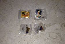 Vintage Never Used Space Shuttle Columbia, Endeavor & Delta Engines Pins!