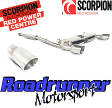 Scorpion Subaru BRZ/Toyota GT86 Acier Inoxydable d'Échappement secondaire CAT BACK Resonated
