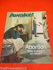AWAKE! - ABORTION - JUNE 2009