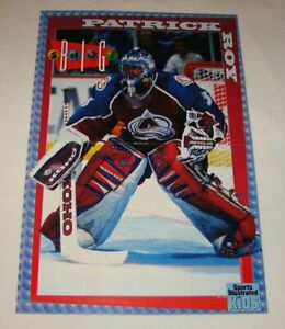 1997 SI For Kids centerfold poster ~ PATRICK ROY ~ Colorado Avalanche