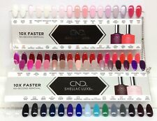 CND Shellac LUXE Nail Palettes with Colors - 2 Plates/Pack