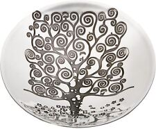 Large Pewter Bowl With Tree of Life Design Embossed 205mm Diameter