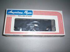 American Flyer #9207 Baltimore & Ohio Covered Hopper Car