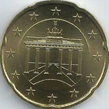 Duitsland  2002    20 cent    Letter A - Atelier A   UNC uit de rol !!