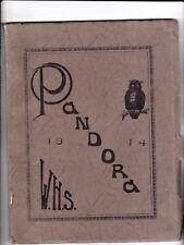 1914 Weiser High School Year Book The Pandora Weiser, Idaho