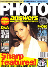 Photo Answers magazine with  Canon EOS 500 camera on   test  June ,  1995